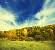 Herbstlandschaft Lizenzfreies Stockfoto