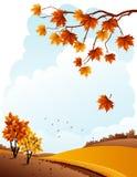 Herbstlandschaft vektor abbildung