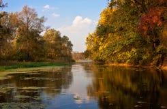 Herbstlandschaft Stockfotos