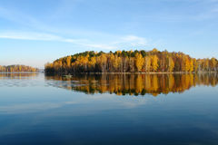 Herbstlandschaft der Süd-Urals Lizenzfreie Stockfotos