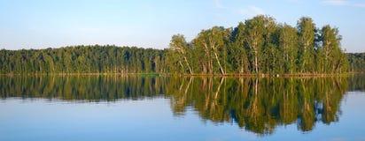 Herbstlandschaft der Süd-Urals Lizenzfreie Stockfotografie