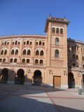 Herbstlandschaft im September in Madrid in Spanien Lizenzfreies Stockfoto
