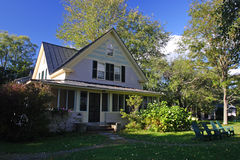 Herbstlaub bei Vermont, USA Lizenzfreies Stockbild