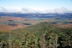 Herbstlaub im Adirondacks, New York, USA Lizenzfreies Stockfoto