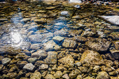 Herbstlaub an verlorenem Ahorn-Nationalpark in Texas lizenzfreie stockfotos