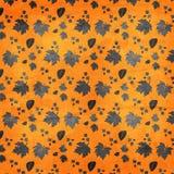Herbstlaubbeschaffenheitshintergrund Stockfotografie