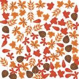 Herbstlaubfarbikone Element der glücklichen Danksagungs-Tagesillustration Erstklassige Qualitätsgrafikdesignikone Zeichen und Sym stockfotografie