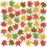 Herbstlaubhintergrund Vektor Abbildung