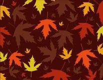 Herbstlaubvektorillustration Stockbild