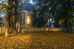 Lutherische Kirche in Dubulti, Lettland lizenzfreie stockbilder