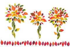 Herbstliche Blume Lizenzfreie Stockbilder