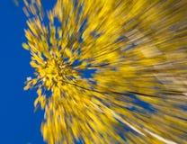 Herbstliche Feuerwerke Stockfoto
