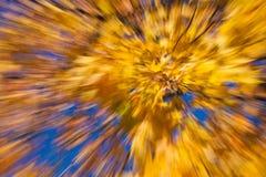 Herbstliche Feuerwerke Stockfotos