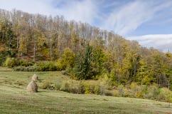 Herbstliche Landschaft stockfoto