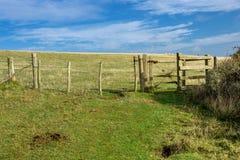 Herbstliche Landschaft - England Stockfotos