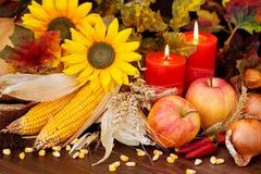 Herbstliche Obst und Gemüse lizenzfreie stockbilder