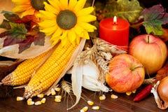 Herbstliche Obst und Gemüse stockbild