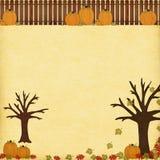 Herbstlicher Hintergrund Lizenzfreies Stockbild
