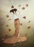 Herbstlicher melancholischer Tag Stockfotografie