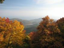 Herbstliches Chigenitra.Crimea.Ukraine Lizenzfreies Stockfoto