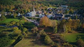 Herbstluftschu? in Stowe stock video