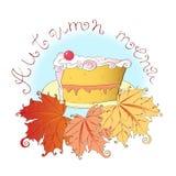 Herbstmenü Lizenzfreies Stockbild