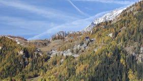 Herbstmorgen Checrouit Lizenzfreies Stockfoto