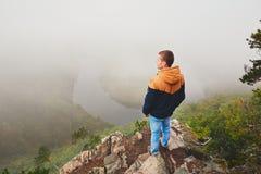 Herbstmorgen in der Natur Lizenzfreie Stockfotografie