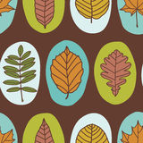 Herbstmuster lizenzfreie abbildung