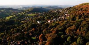 Herbstnachmittag Stockbild