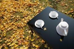 Herbstnachmittag lizenzfreies stockbild