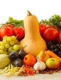 Herbstobst und gemüse - lizenzfreies stockbild