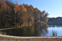 Herbstpark, Landschaft Lizenzfreie Stockfotografie