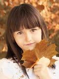 Herbstporträt Stockfotos
