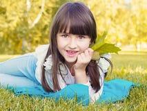 Herbstporträt Stockfoto