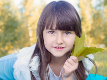 Herbstporträt Lizenzfreies Stockbild