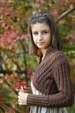 Herbstportrait Lizenzfreies Stockbild