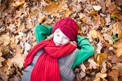 Herbstportrait Lizenzfreies Stockfoto