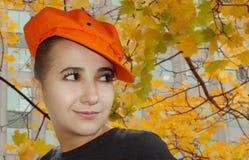 Herbstportrait stockfotos