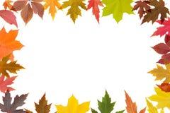 Herbstpostkarte stockbild