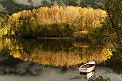 Herbstreflexion Stockbild