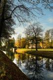Herbstreflexionen Stockbild