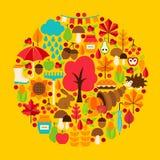 Herbstsaisonkonzept Stockfotos