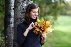 Herbstschönheit stockfotografie