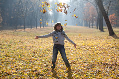 Herbstspaß Stockfotografie