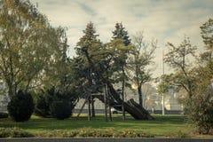 Herbststadt Budapest stockbild