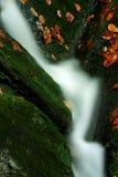 Herbststrom in den riesigen Bergen Lizenzfreies Stockbild
