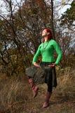 Herbsttanz Stockfoto