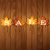 Herbstverkaufskonzept Stockbilder