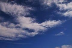 Herbstwolken Stockfotografie